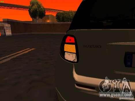 Suzuki SX-4 Hungary Police for GTA San Andreas interior