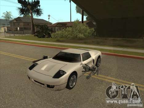 The CLEO script: Super Car for GTA San Andreas