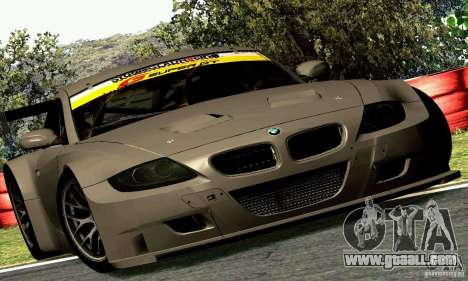 BMW Z4 E85 M GT 2008 V1.0 for GTA San Andreas back view