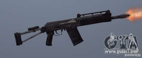 Izhmash Saiga-12K for GTA San Andreas forth screenshot