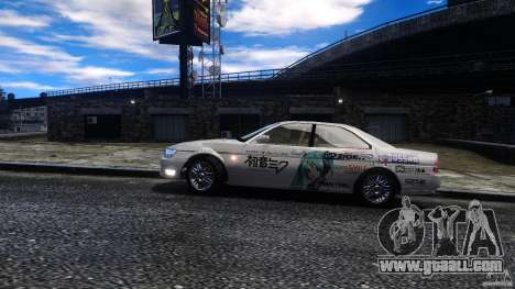 Nissan Laurel GC35 Itasha for GTA 4 back left view