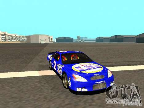 Ford Taurus Nascar LITE for GTA San Andreas