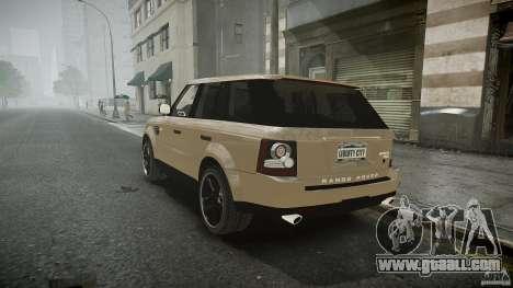 Range Rover Sport for GTA 4 inner view