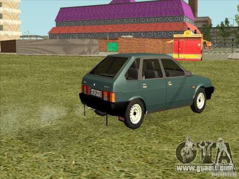 VAZ 2109 Final for GTA San Andreas left view