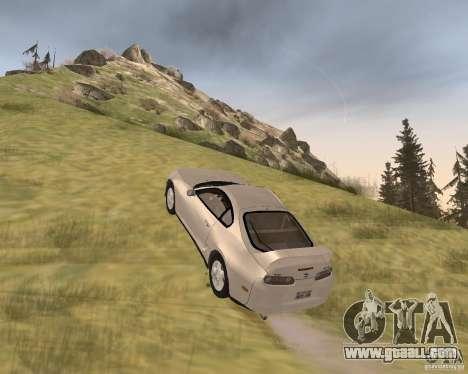 Toyota Supra 3.0 24V for GTA San Andreas right view
