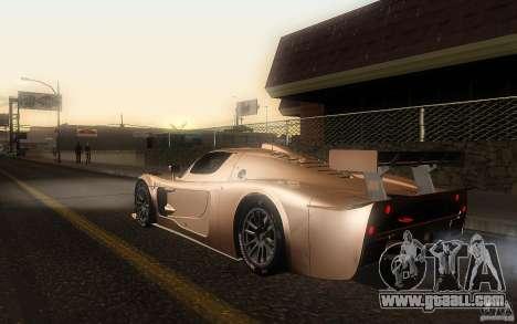 Maserati MC12 GT1 for GTA San Andreas left view