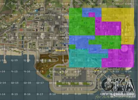 Map of San Andreas with Update v7 for GTA San Andreas second screenshot