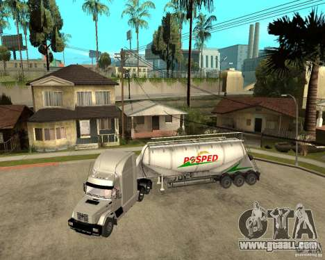 Patch trailer v_1 for GTA San Andreas back left view