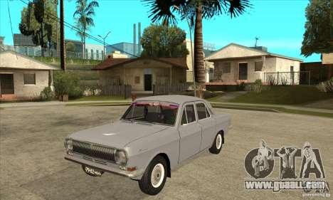 GAZ Volga 24 for GTA San Andreas