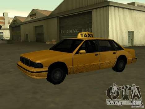 Realistic texture of original car for GTA San Andreas