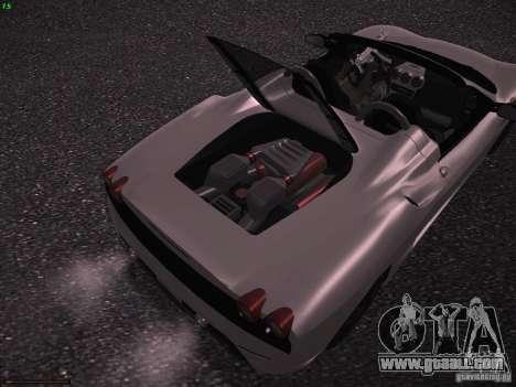 Ferrari F430 Scuderia M16 for GTA San Andreas back view