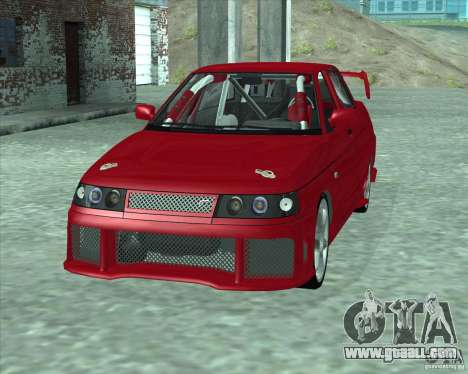 LADA 21103 Street Tuning v1.0 for GTA San Andreas back left view