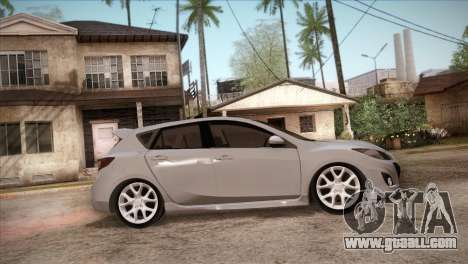 Mazda Mazdaspeed3 2010 for GTA San Andreas upper view