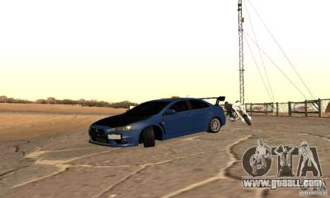 New Drift Zone for GTA San Andreas third screenshot