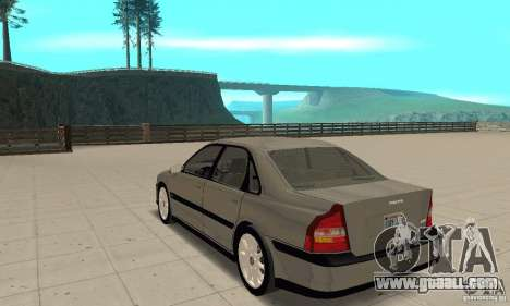 Volvo S80 1999 for GTA San Andreas back left view
