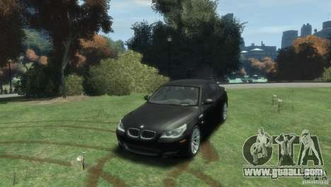 BMW M5 for GTA 4