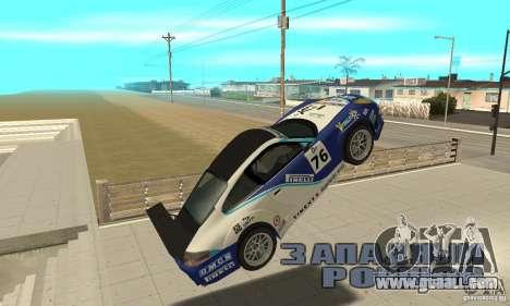 Porsche 911 Le GRID for GTA San Andreas inner view