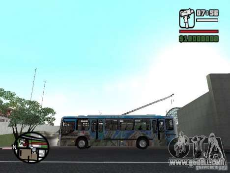 Marcopolo Torino GV Trolebus for GTA San Andreas left view