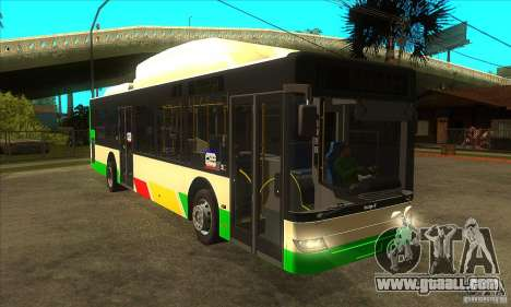Mercedes Benz MAN Lions City CNG for GTA San Andreas back view