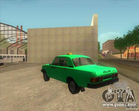 GAZ 31029 taxi for GTA San Andreas left view