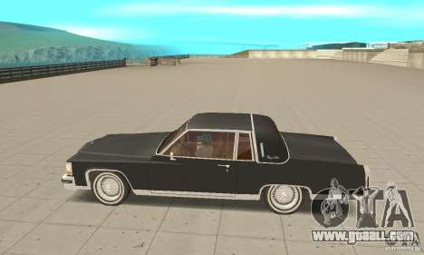 Cadillac Coupe DeVille 1985 for GTA San Andreas left view
