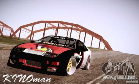 Nissan 300ZX Z32 for GTA San Andreas side view