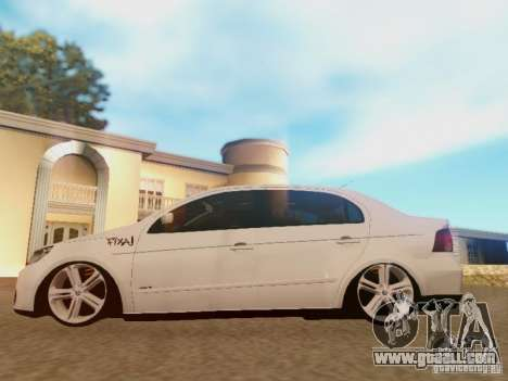 Volkswagen Voyage G5 Roda Passat CC for GTA San Andreas back view