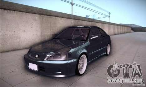 Honda Civic 6Gen for GTA San Andreas