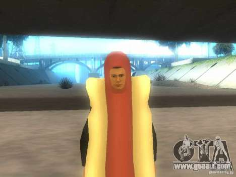 Man sausage for GTA San Andreas
