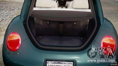 Volkswagen New Beetle 2003 for GTA 4 side view