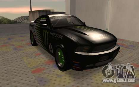 Ford Mustang GT Falken Monster 2010 v2.0 for GTA San Andreas