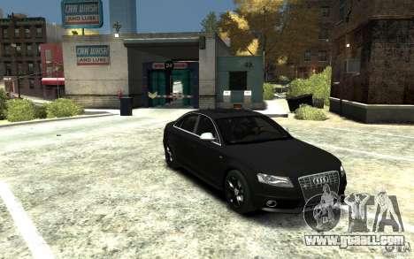 Audi S4 2010 v.1.0 for GTA 4 back view
