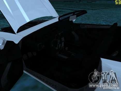 GTA IV Feltzer for GTA San Andreas back view