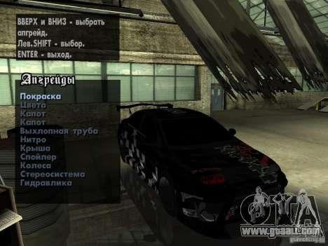 Mitsubishi Lancer Evolution X Drift Spec for GTA San Andreas side view