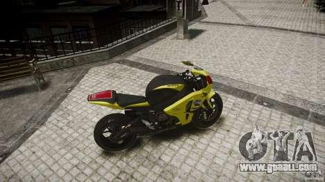 Honda CBR1000RR for GTA 4 right view
