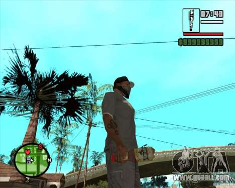 Lvivske Svitle for GTA San Andreas second screenshot