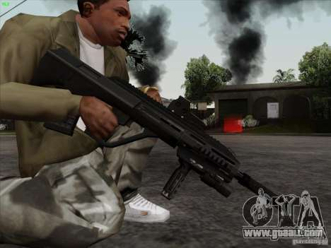 AUG-A3 Special Ops Style for GTA San Andreas forth screenshot