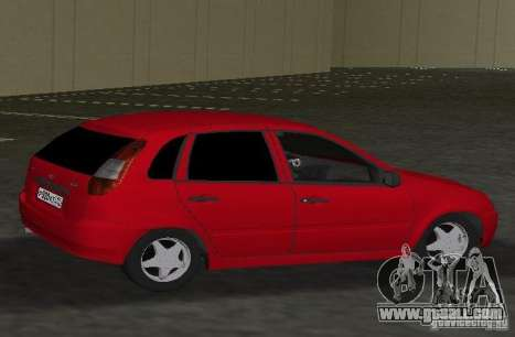 LADA 1119 Kalina for GTA Vice City back left view