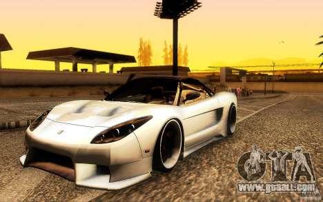 Honda NSX VielSide Cincity Edition for GTA San Andreas