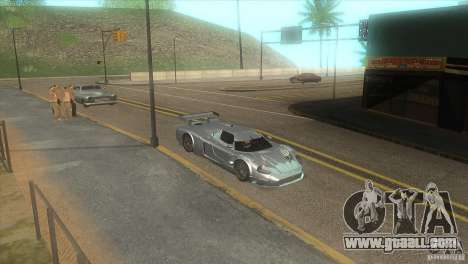 Quality road in the LS for GTA San Andreas seventh screenshot