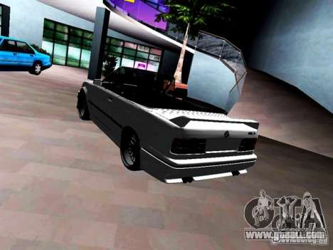 BMW M3 E30 Cabrio for GTA Vice City back view