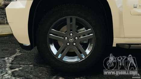 Chevrolet Suburban GMT900 2008 v1.0 for GTA 4 back view