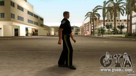 New clothes cops version 2 for GTA Vice City second screenshot