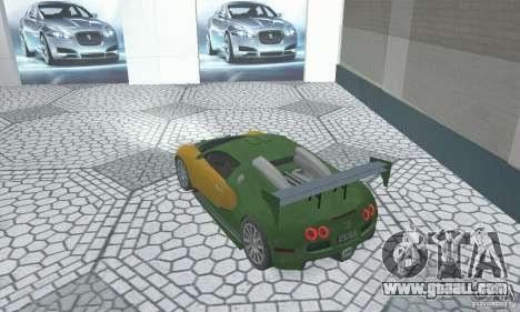 Bugatti Veyron 2005 for GTA San Andreas left view