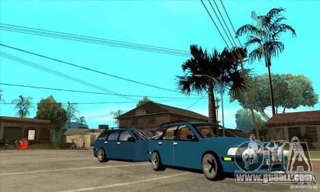 Volvo V40 Gespann for GTA San Andreas back view