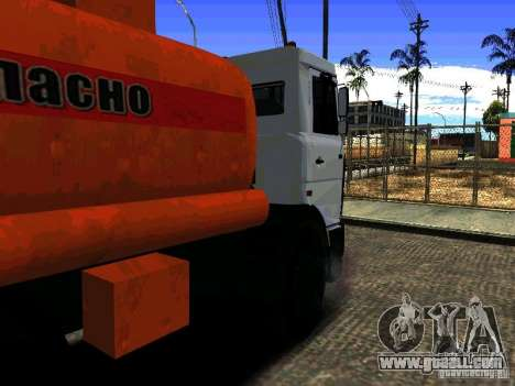 MAZ 533702 Truck for GTA San Andreas left view
