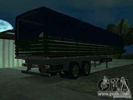 English trailer for Kamaz for GTA San Andreas