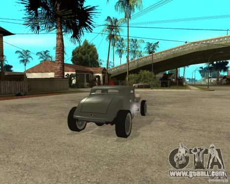 Ford 34 Rod for GTA San Andreas back left view