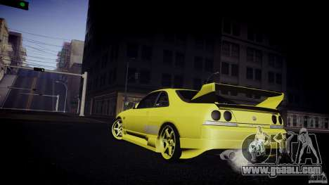 Nissan Skyline GTS R33 for GTA San Andreas right view