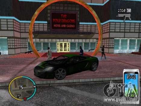 GTA IV HUD v2 by shama123 for GTA San Andreas sixth screenshot